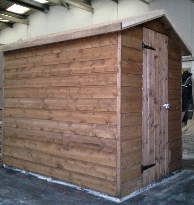 Overhang Roof Shed (7' x 5')