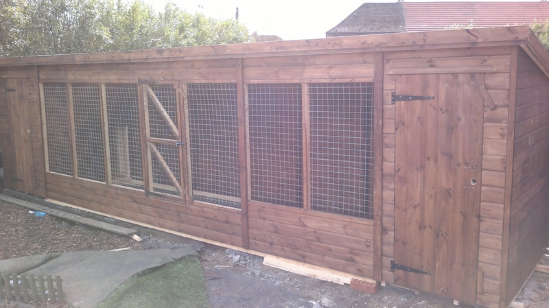 Dog Kennel (20' x  6')