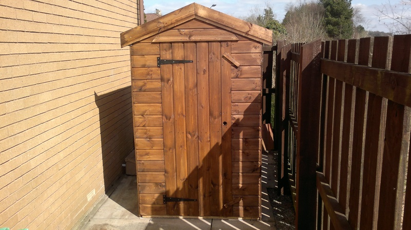 Apex Shed (6' x 4')