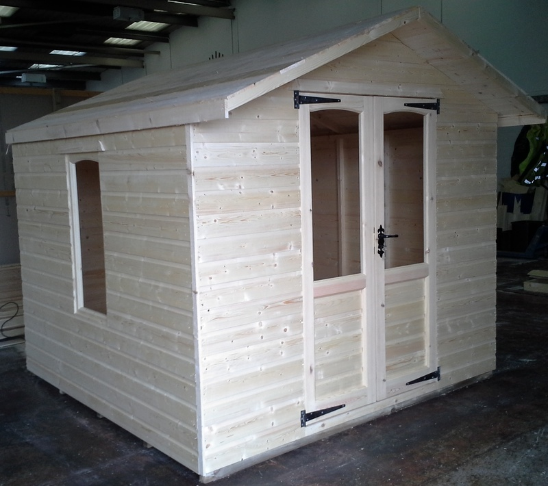 Wooden Summer House (8' x 8')