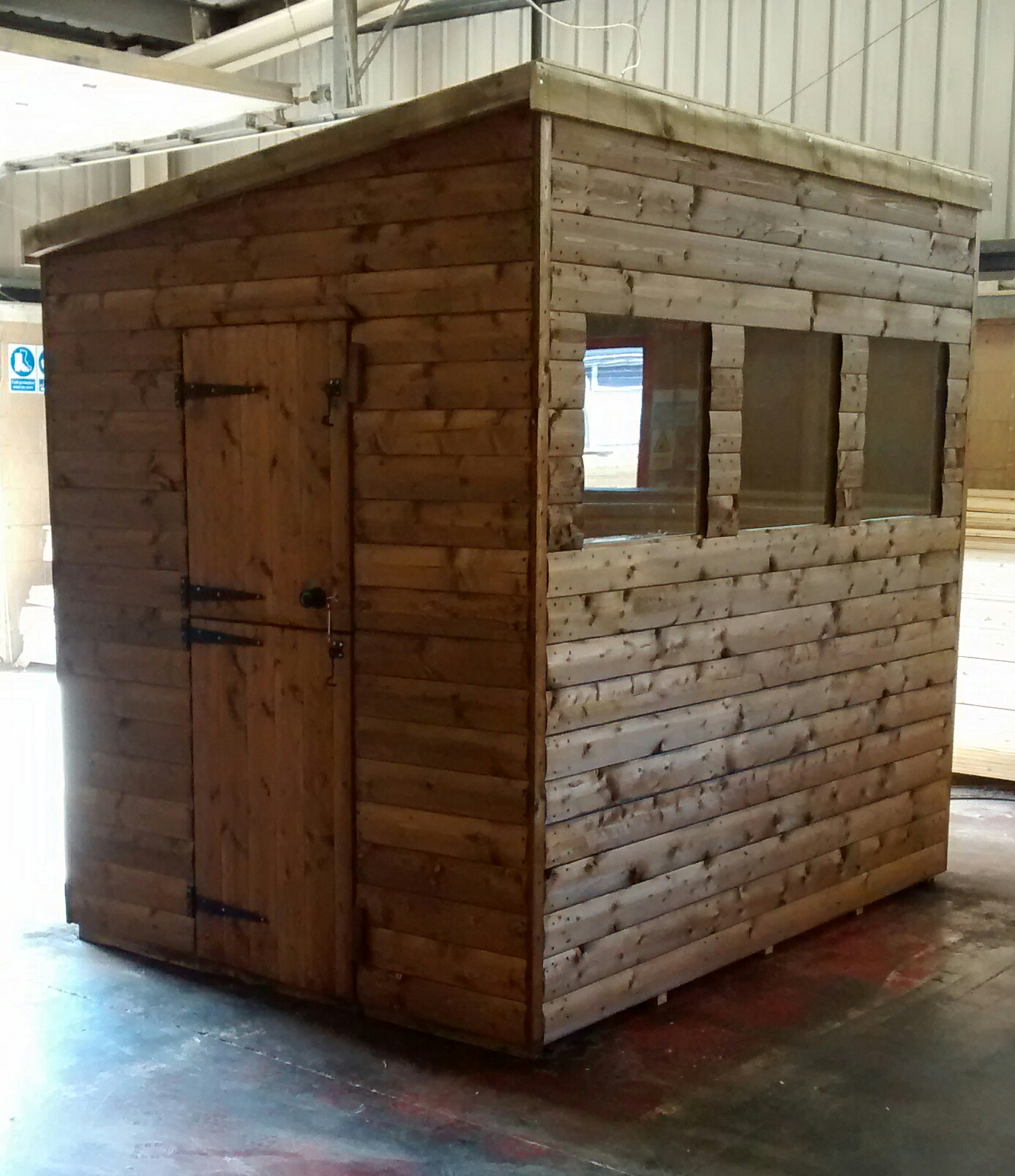 Pent Shed (8' x 6') 3W