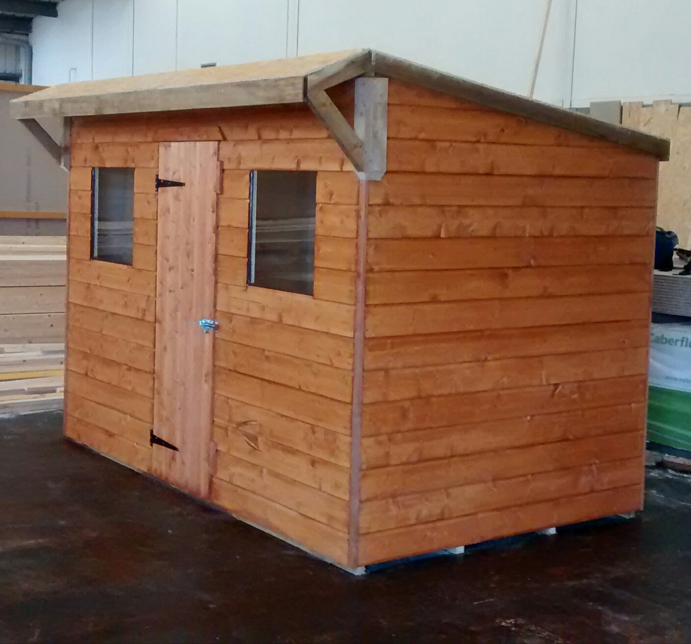 Pent Shed (10' x 6') O/R-S